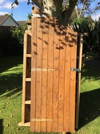 7x5 Pent Roof Shed