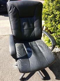 Leather office chair (Twickenham)