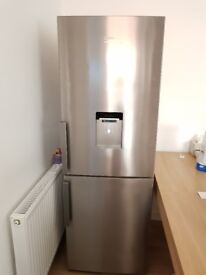 Beko Stainless Steel Frost Free Fridge Freezer