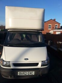 ford luton with tail lift