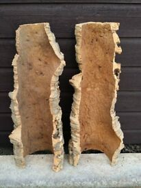 Reptile Accessories Cork Bark 2 x Large Pieces