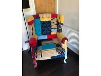 Funky one off Arm Chair