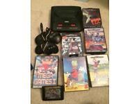 Sega Megadrive 2 And games