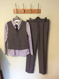 Suit , shirt and tie for boys ages 12-13