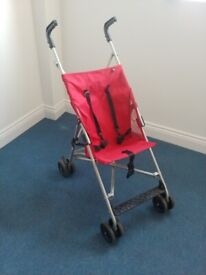Folding Stroller / Pushchair / Buggy - Very Light Use