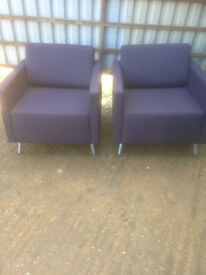 Sofa Chairs by Orangebox in Used Condition