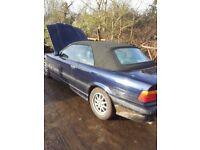 BMW E36 323 CONVERTIBLE ROOF FULLY ELECTRIC