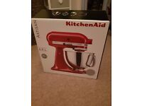 New KitchenAid Artisan Mixer - Metallic Chrome - 5KSM150PSMC