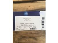 4 x Blink 182 tickets O2 London seated FACE VALUE