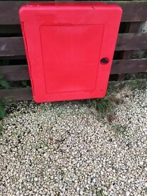 Fire Extinguisher X 2 and Outdoor Storage Unit