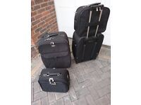 Antler suitcases, two sets