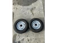 Trailer Wheels 145R10