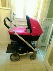Joie chrome pushchair