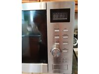 De Longhi stainless steel combination microwave