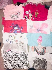Large bundle of girls summer clothes 8,9,10