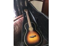 Tanglewood TW73E Parlour Guitar - All Solid Woods / Fishman pickup