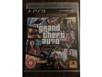 PS3 GTA Liberty City Game