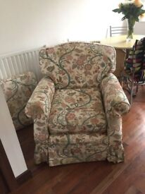 Free sofa and armchair! Very comfy! Cambridge