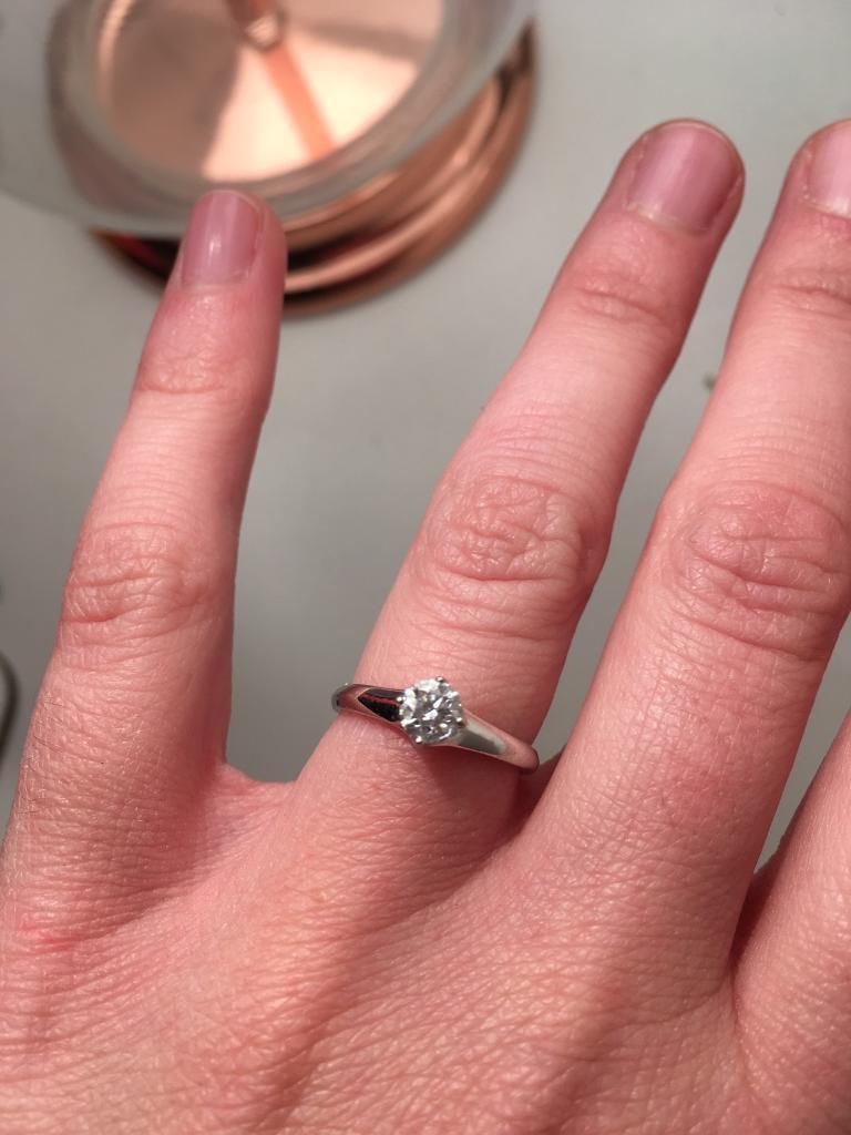 White Gold Diamond Engagement Ring   in Belper, Derbyshire   Gumtree