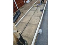 Garden concrete slabs want going asap