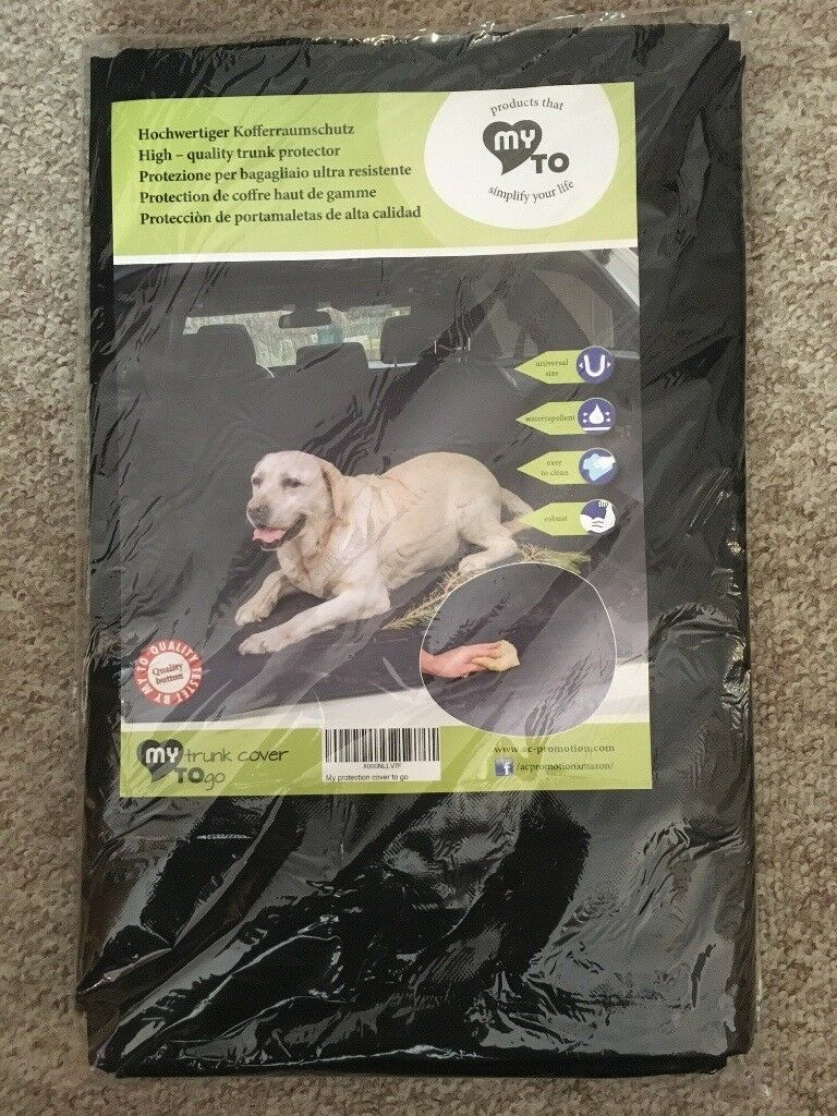 **JUST £8** - Car Boot Waterproof Protector for Dogs - Pets - Garden Rubble - Rubbish - Brand New