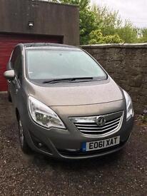 Vauxhall Meriva SE CDTI Automatic 2011 (61) 60123 miles 1686cc Diesel, MoT 28/08/17 FSH +Bluetooth