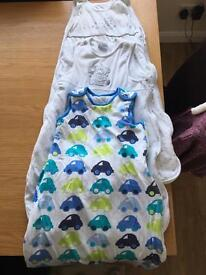 3 x baby sleep bags