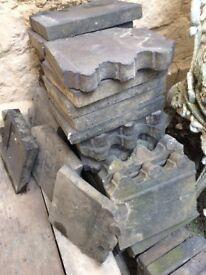 Antique Garden Border Tiles