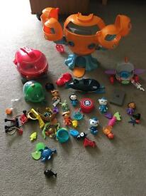 Octonauts Toy Bundle - reduced price for quick sale