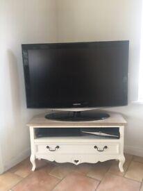 Corner TV stand shabby chic