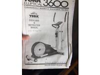 Cross Trainer for sale York 3600