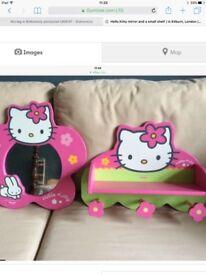Hello kitty shelves
