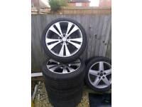 Volkswagen alloy wheels 18 inch