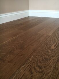 Super sale on 145x22mm engineered oak antique stain lacquered flooring