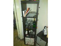 Shelving unit (42x147 cm) Black