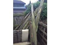 Free wood - old decking and doors