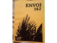 Three Bound Paperback Volumes of Envoi Poetry Journal