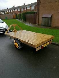 Car trailer quad bike loader gokart