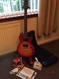 LES PAUL EPIPHONE ELECTRIC GUITAR AND EXTRAS