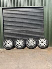 VW 215/65R16C Steel Wheels and Tyres