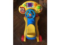 vtech grow and go ride on Kids Car Push Along Educational Toy