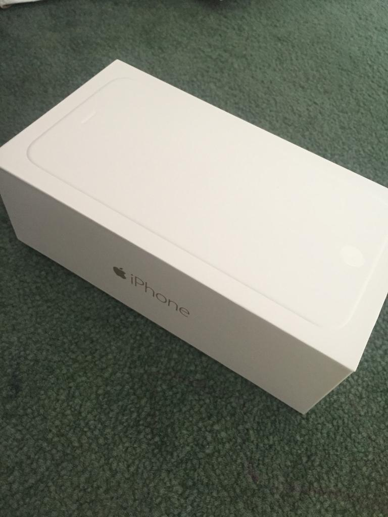 I phone 6 Plus box only