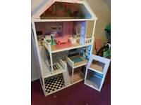 4ft tall barbie house and garage