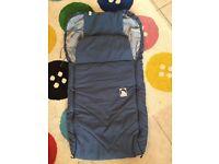 Eisbarchen foot muff apron buggy pram stroller