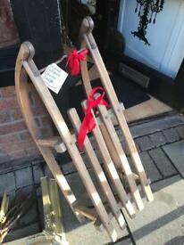 Antique original German sledge ! Beautiful for Christmas / display or the snow !!