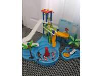 Playmobil Waterpark and splash pool