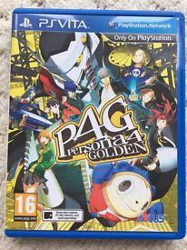 Persona 4 Golden - PS Vita - Immaculate Condition