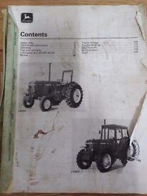 Owners manual John Deere 3040 tractor