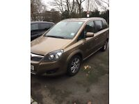 Vauxhall zafira with PCO license expires 07/2017