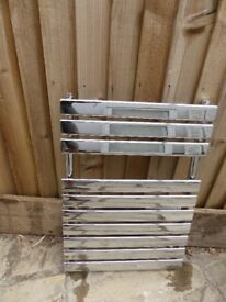 Bathroom Silver Towel Rail / Radiator